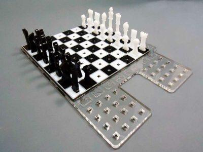 Σκάκι plexiglass