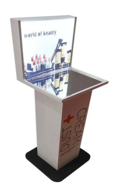 Plexiglass - Stand καλλυντικών-κολώνα 1020-1