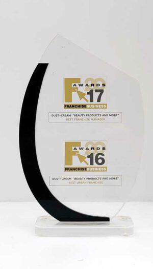 Βραβείο plexiglass